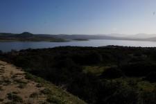Sedilo Poligono sul lago Omodeo
